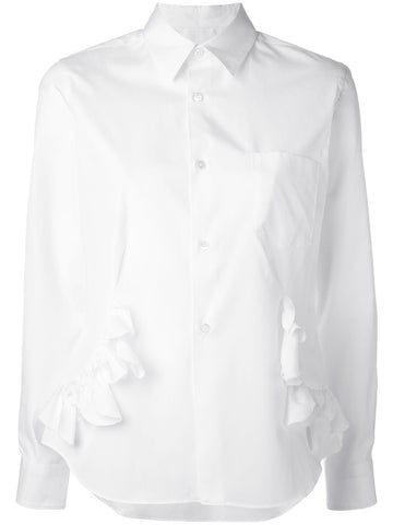 Ruffled Cotton Shirt | RS-B015-051