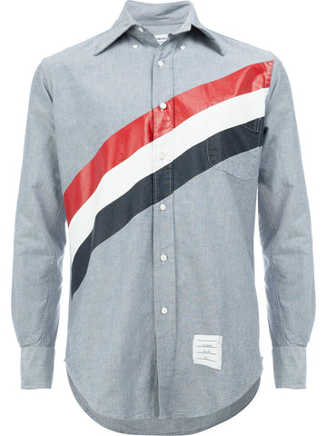 Striped Oxford Shirt | MWL001A-01935-415