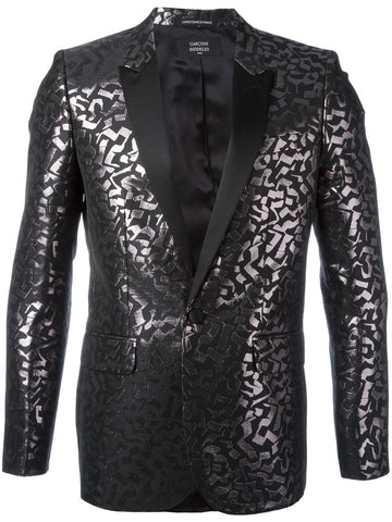 Metallic Jacquard Blazer | E17CHRIS