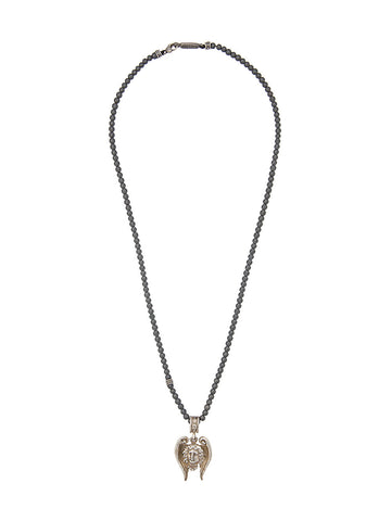Angel Pendant Necklace | N-N-1262-B-SS/HEM