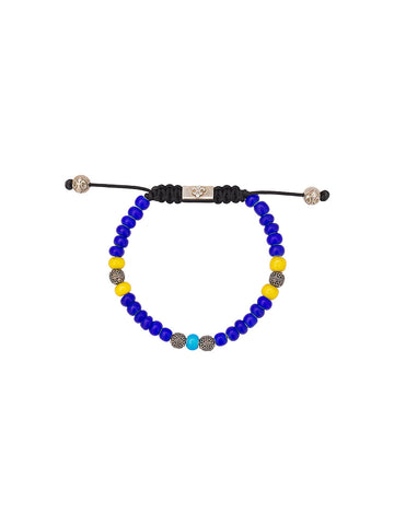 Beaded Glass Bracelet | 7 MVIGL6_015-CIARO