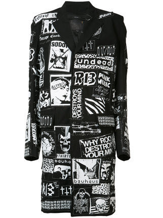 Punk Patchwork Coat | R13W2318-01