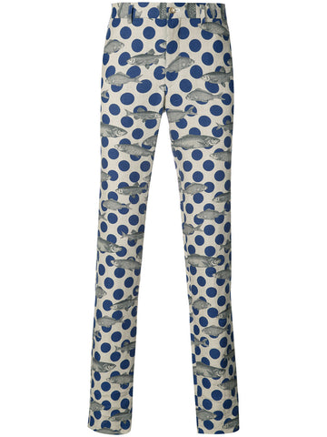 Polka-Dot Fish Trouser | PS-P047-051