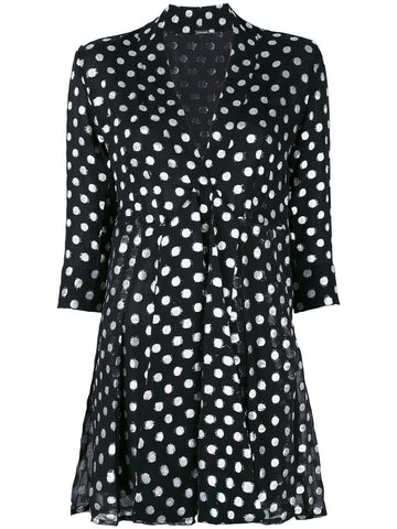 Metallic Polka-Dot Dress | DBO-262 HANDRIX