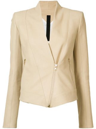 Structured Leather Jacket | PH17S8718/LN
