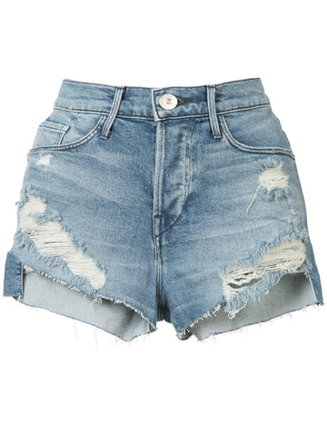 Distressed Denim Shorts | W2BFS