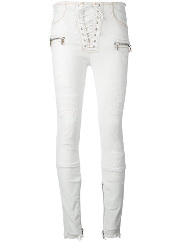Laced Skinny Jean | UWCE009S17020020 DNM LACE SKNY