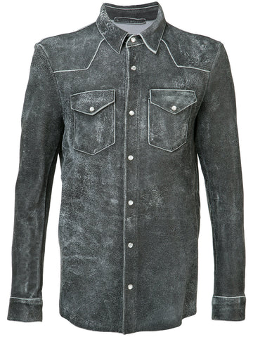 Leather Shirt | 32541-U