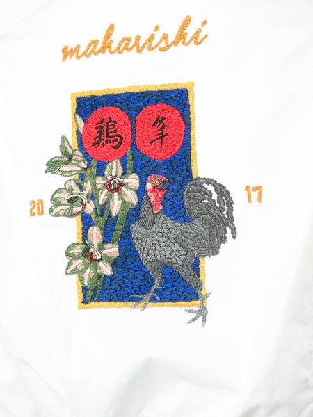 Embroidered Rooster Jacket | 3511 ROOSTER STADIUM