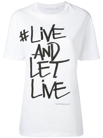 Live And Let Live Tee | PNJT24A-F565S