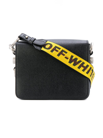 Leather Binder-Clip Bag | OWNA011E174230321000