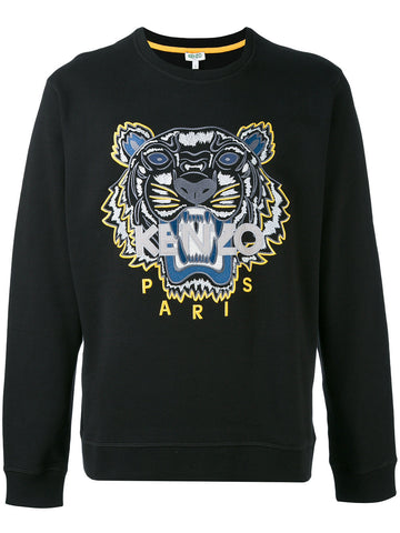 Embroidered Tiger Icon Sweatshirt | F765SW0014XC- TIGER CLASSIC