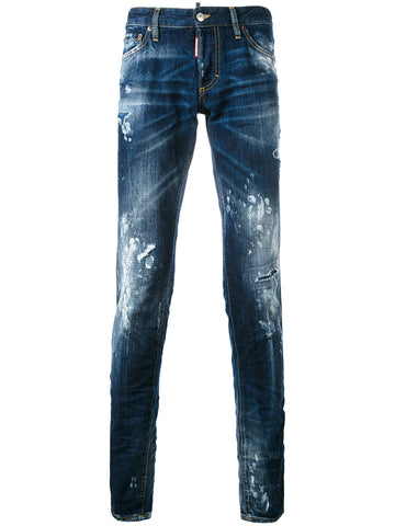 DESTROYED DENIM JEAN | S74LB0244-S30309