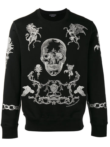 Embroidered Sweatshirt | 464018QJX17