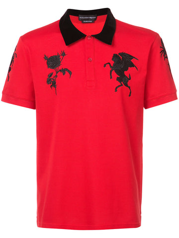 Embroidered Polo | 464019QJX30