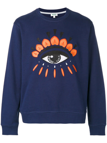 Embroidered Eye Sweatshirt | F765SW0554XC EYE CLASSIC