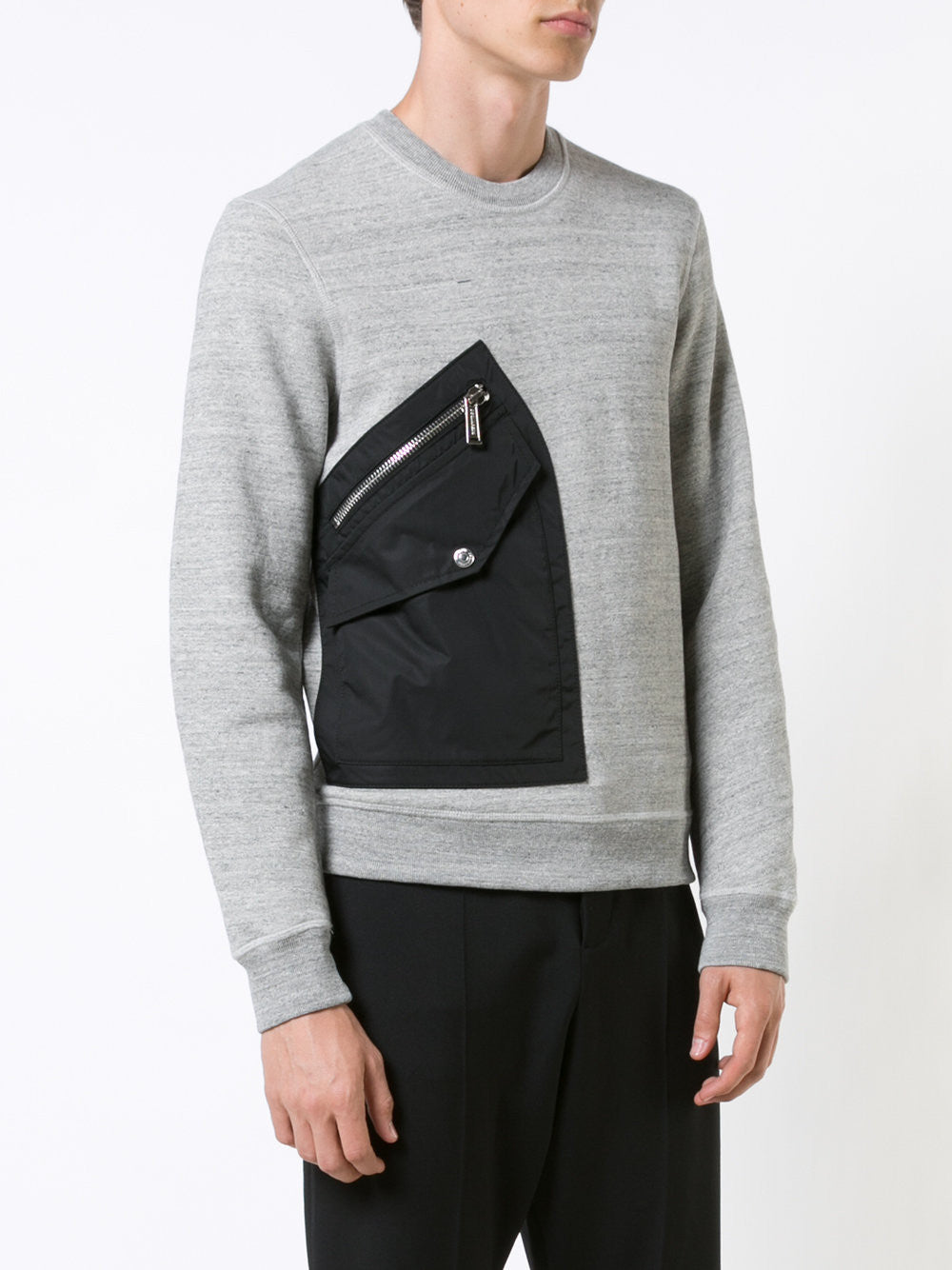 Zip-Pocket Sweatshirt | S74GU0199-S25148