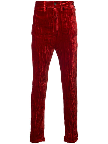 Crushed Velvet Trousers | 1702-3412-163-039