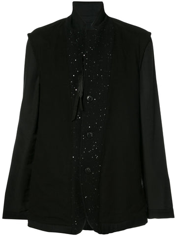 Sequined Placket Blazer | 1708-3004-201-099