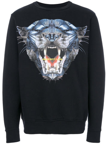 Panther Graphic Sweatshirt | CMBA009F175060551088