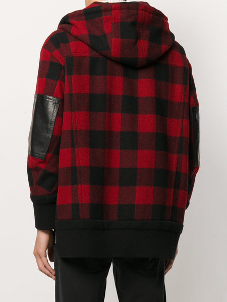 Hooded Flannel Jacket | S75AM0508 S44496