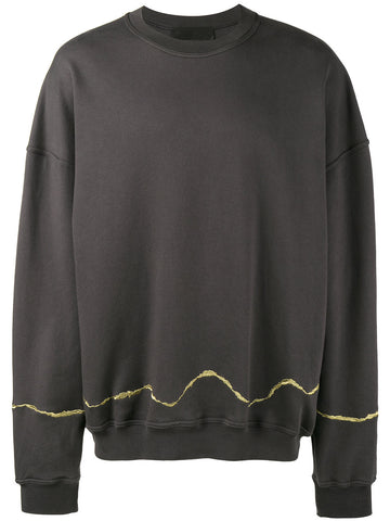 Embroidered Sweatshirt | 174-3808-222-097
