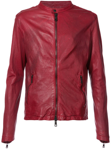Leather Biker Jacket | GUI8F 8493V BIKER
