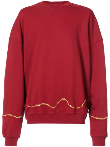 Embroidered Sweatshirt | 174-3808-222-042