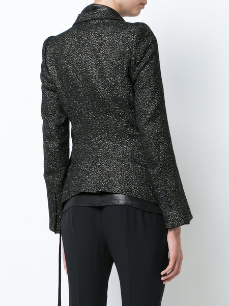Metallic Oberlin Blazer | 1702-1010-P-190-029 OBERLIN