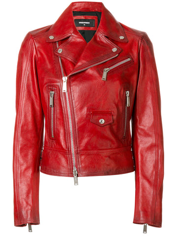 Leather Motorcycle Jacket | S72AM0595 SX7818