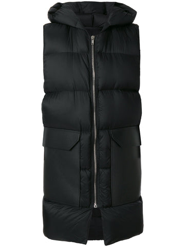 Quilted Down-Filled Vest | RU17F8994 EV 09