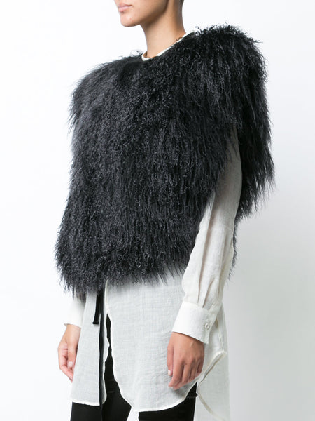 Lamb Fur Top | 1702-1212-286-099