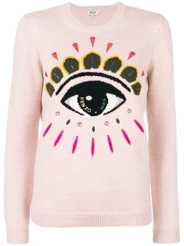 Embellished Eye Sweater | F762TO4313XD