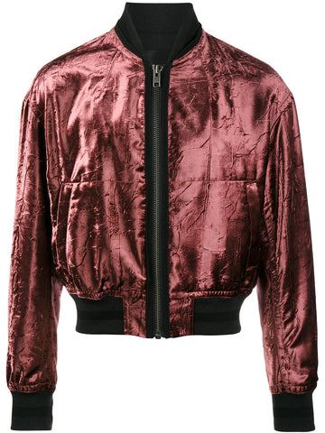 Crushed Velvet Bomber | 174-3020-446-067