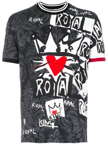 Royal Graphic Tee | G8HQ5T-HP73Z