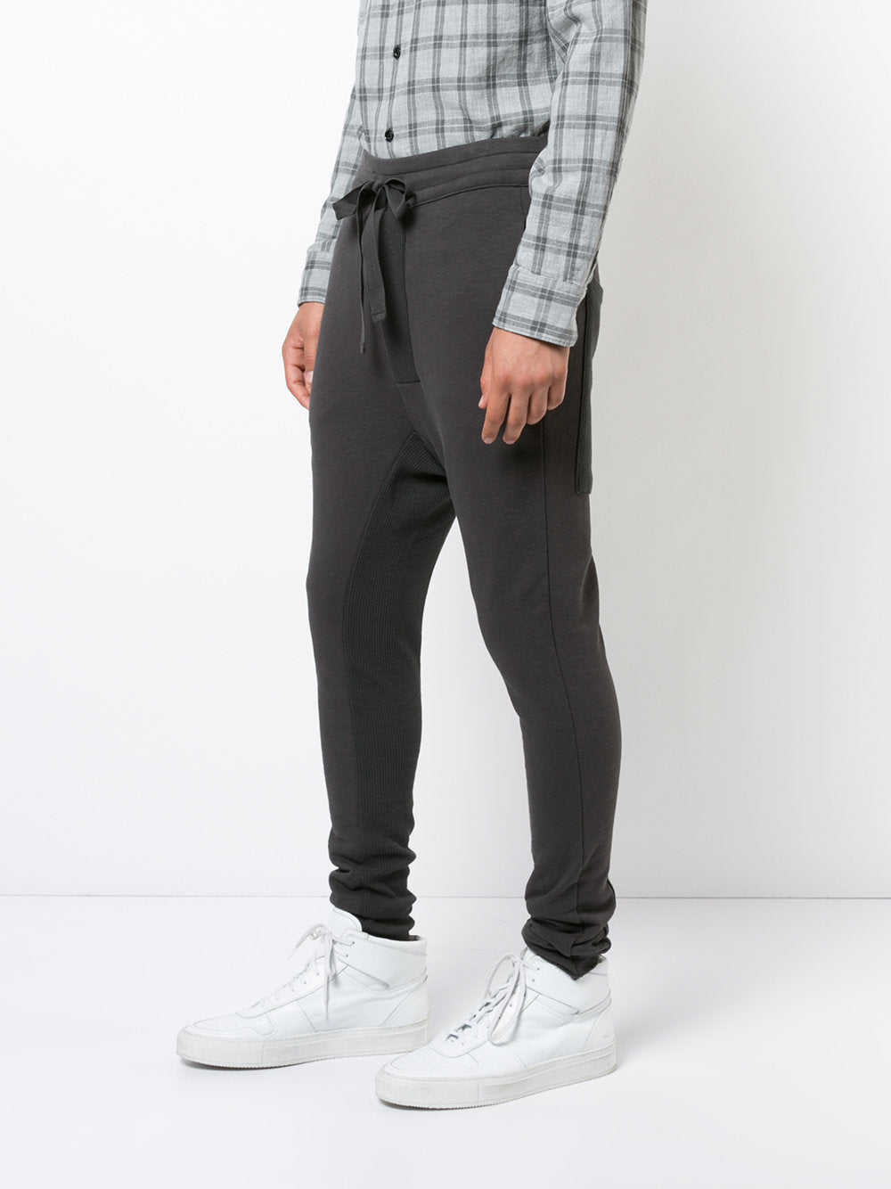 Skinny Cotton Joggers | MST-71-0-1