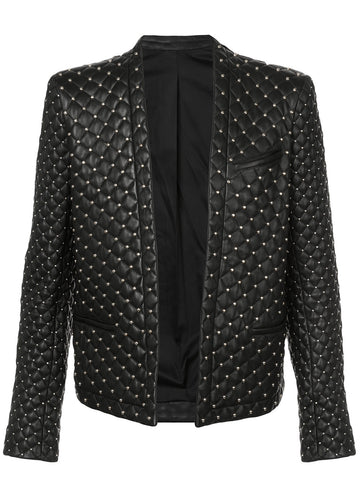 Quilted Leather Jacket | W7H7765P089C
