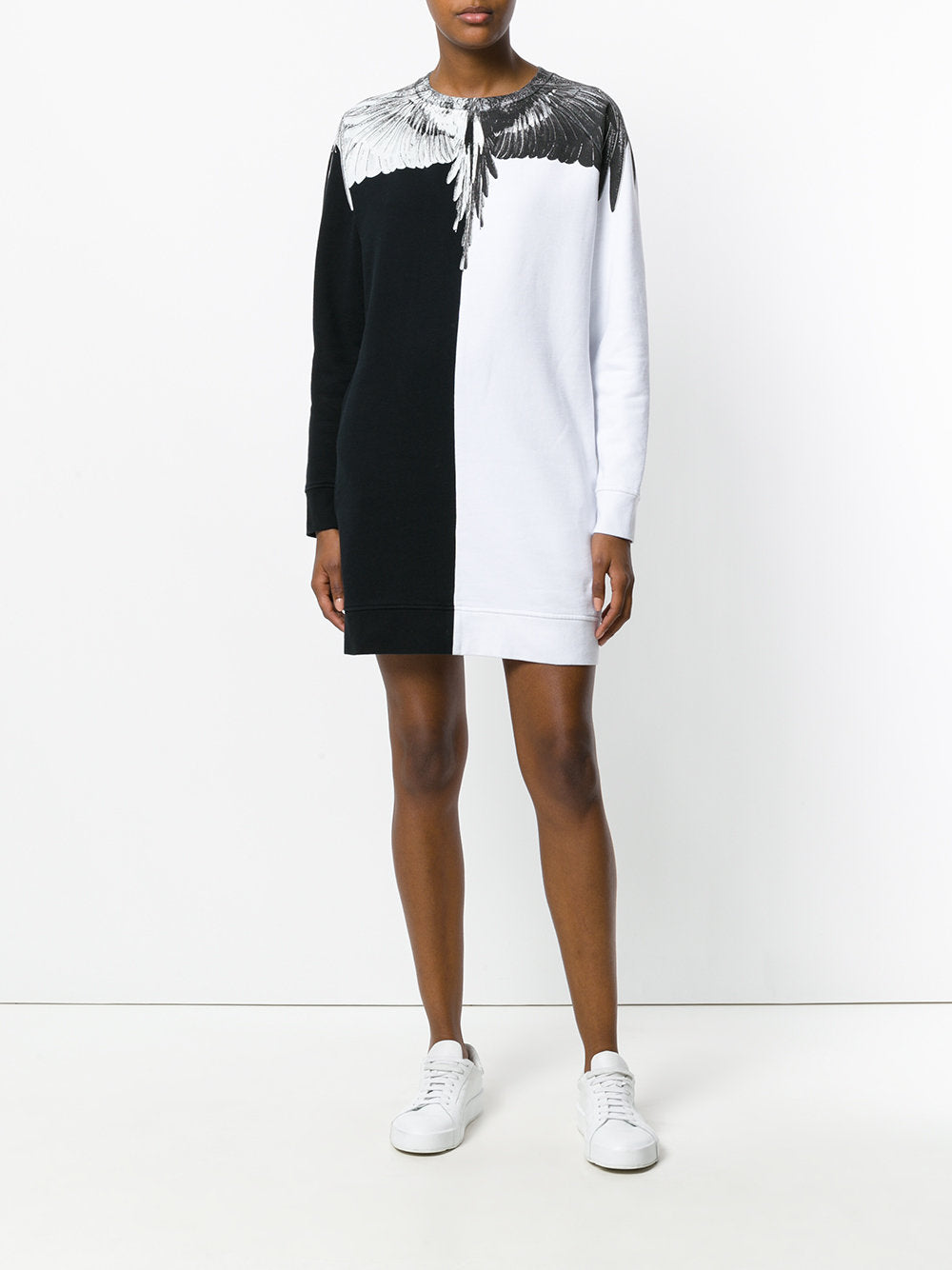 Cuncos Long Sleeve Sweatshirt Dress | CWBA014E175060281001 CUNCOS LS