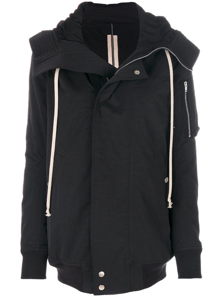 Short Hooded Parka | DS17F2712 MU