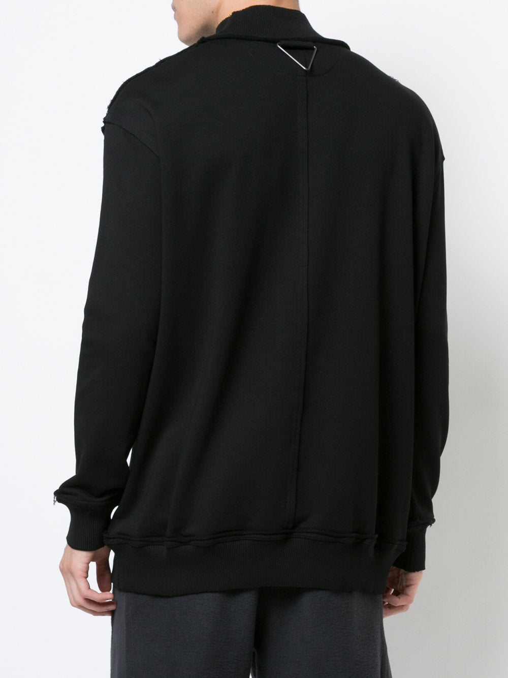 Mock Neck Sweatshirt | BF1M0094 J1511 WIRE
