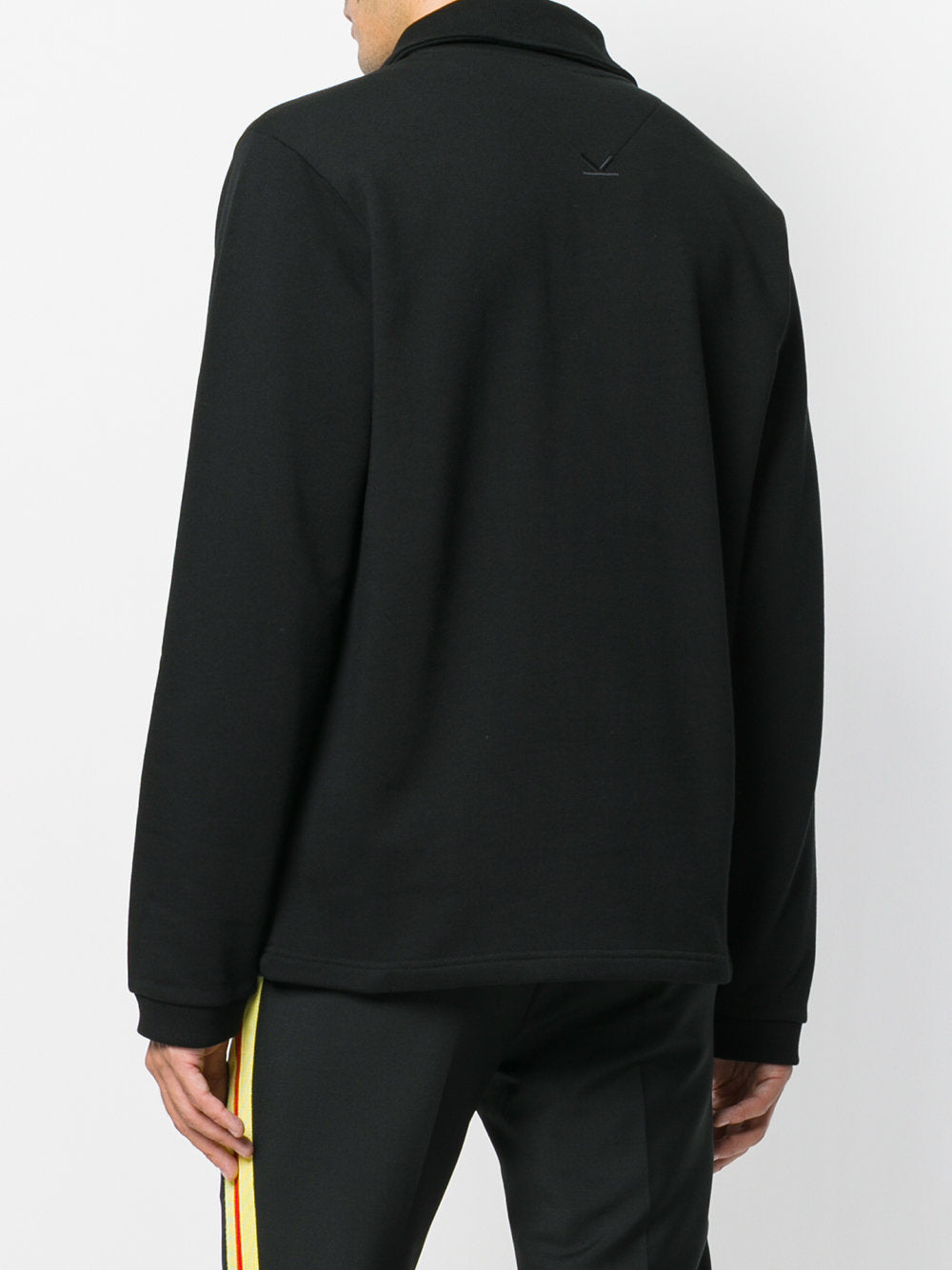 Funnel Neck Zippered Sweatshirt | F765SW1604MD RIBBED FUNNEL