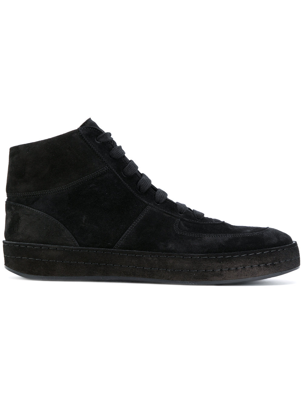 Monochrome Suede High Tops | 1702-4220-354-099
