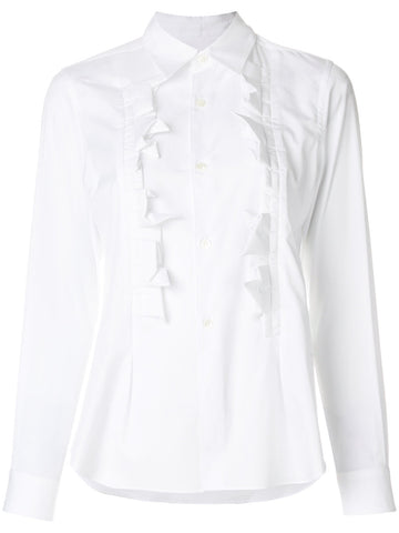 Ruffled Collared Shirt | RT-B009-051