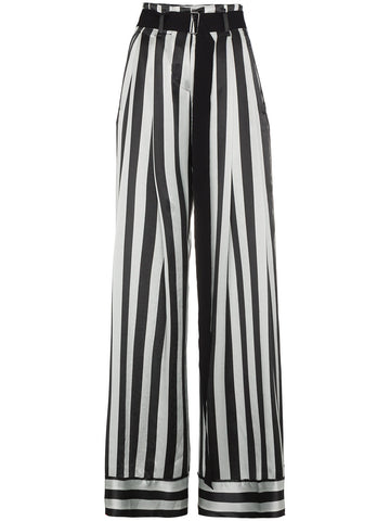 HIGH WAISTED STRIPED PANT| 1801-1434-P-107-045
