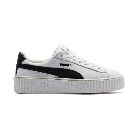 Fenty Leather Creeper | 364462 CREEPER WHITE LEATHER