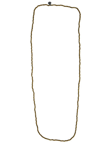 Brass Beaded Necklace | BRASS TITANIUM HEMA