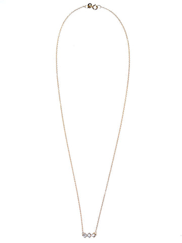 3 Diamond Necklace | SN32-D 3 DIAMND NCKLCE