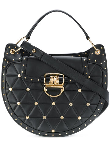 Rounded Embellished Cross Body Bag | W7MSB033002R