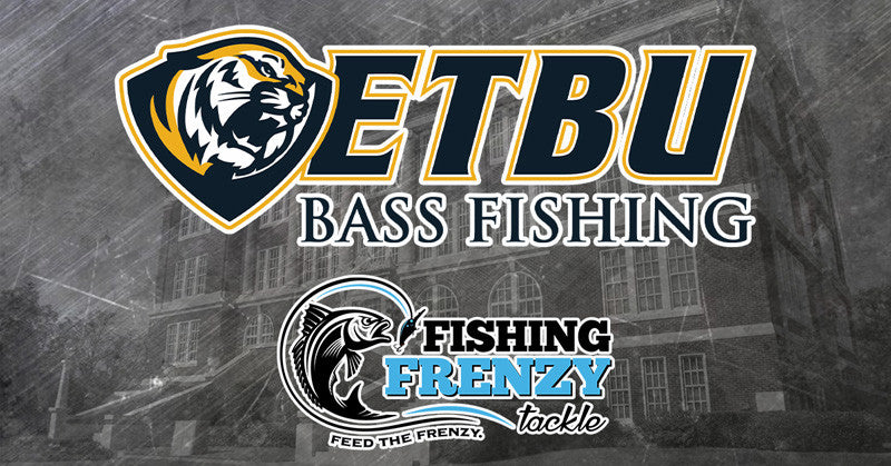 East Texas Baptist Bass Fishing Team Signs with Fishing Frenzy Tackle