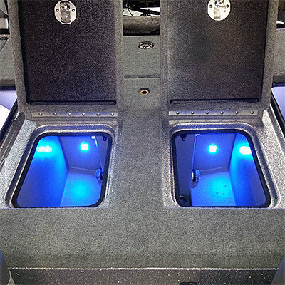 BluewaterLED - Quad Beam Livewell / Cooler LED Light Pair - Submersible